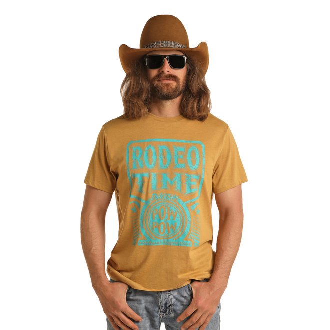 Dale Brisby  Mustard Rodeo Time  T-Shirt