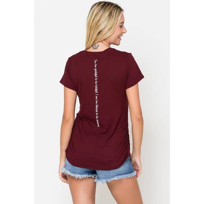 Blessed V Neck T-Shirt