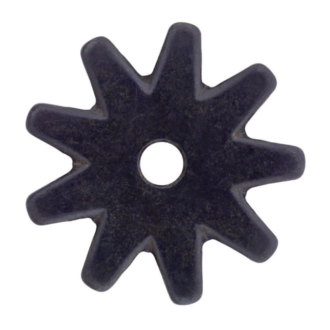 Black Satin 9 Point Rowel