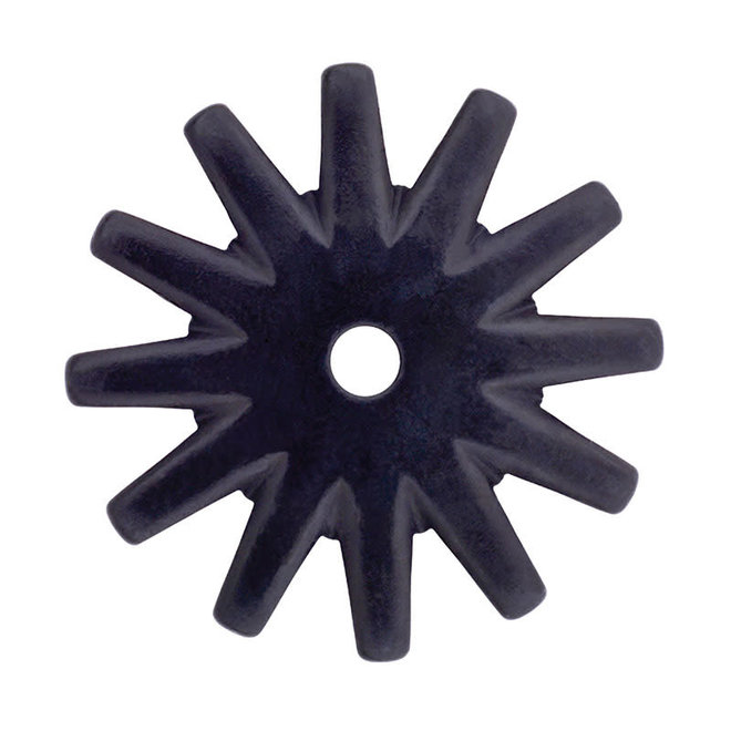 Rowel - Black Satin 12 Point