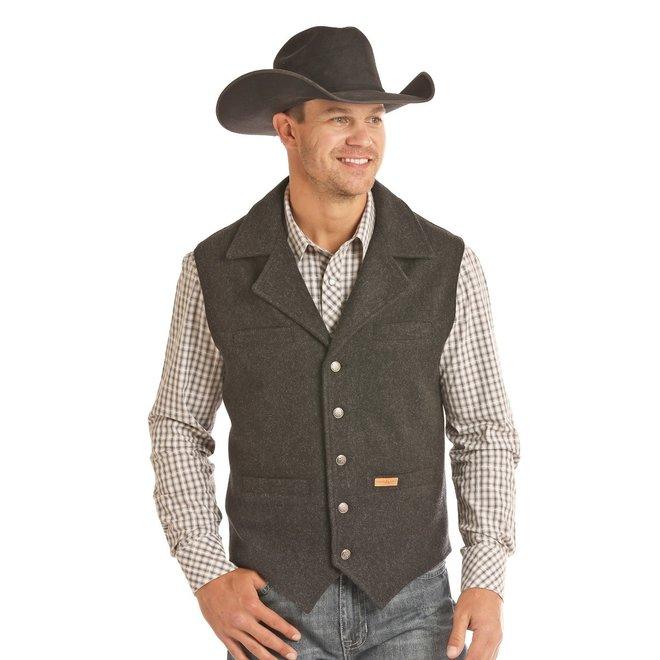 Powder River Wool Vest