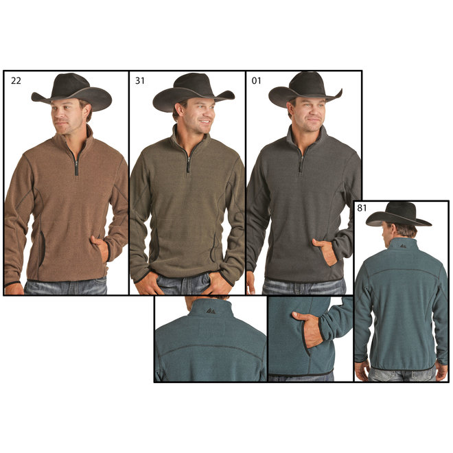 3 /4 Powder River Zip Pullover