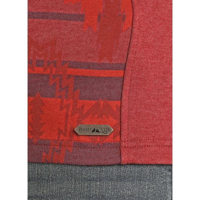 1/4 Zip Pullover Aztec Henley
