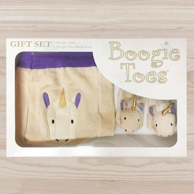 Unicorn Tight Rattle Gift Box 0-12M