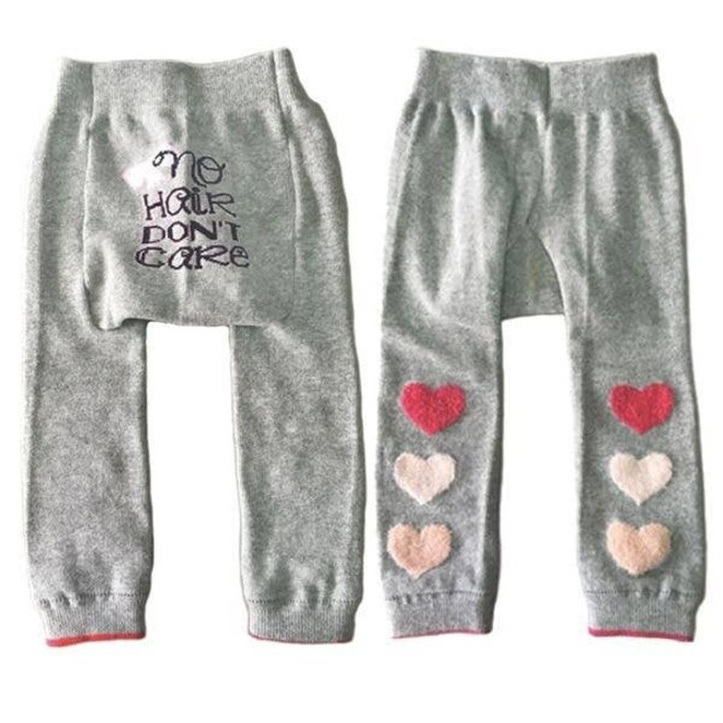 No Hair Don't Care Tights 6-12M