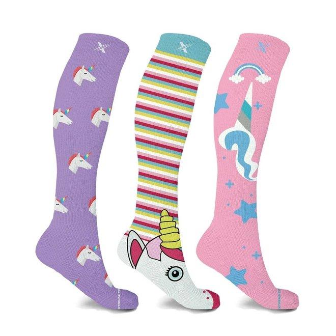 Assorted Unicorn Compression Socks S/M