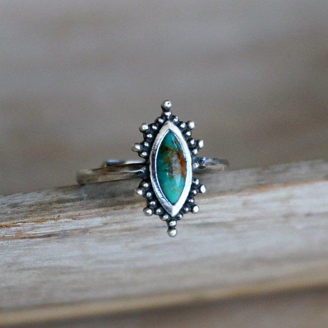 Kal turquoise ring