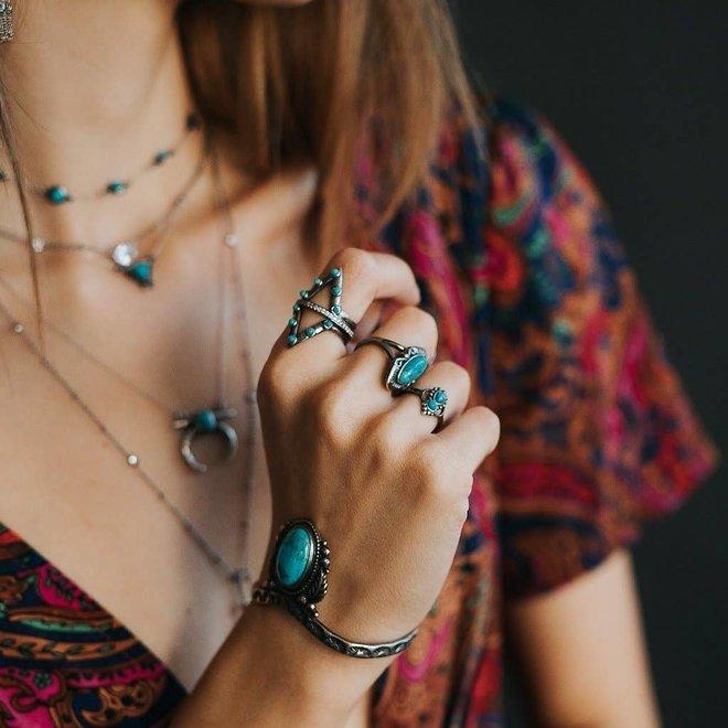 Jacy Turquoise Ring