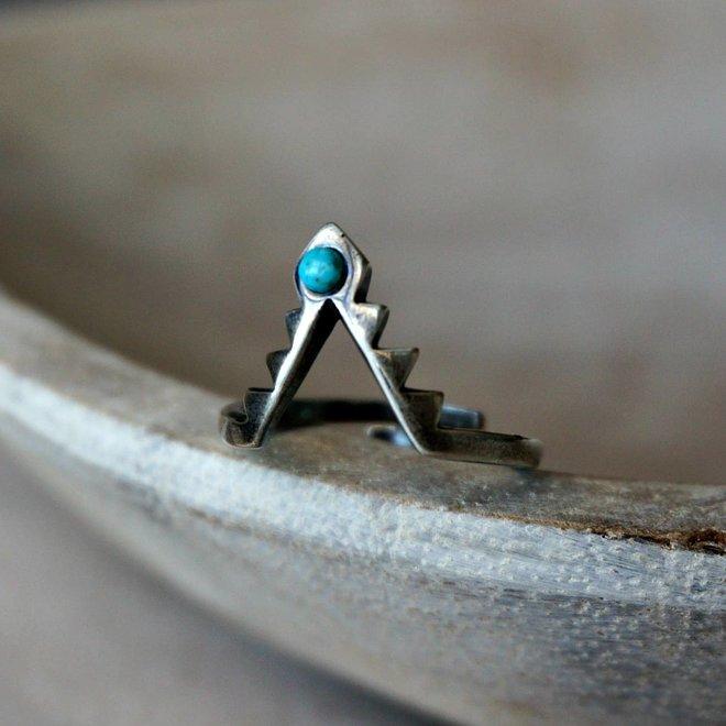 Freya Turquoise Ring