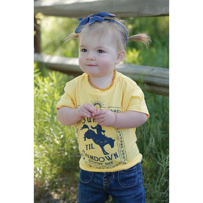 Girls Cinch Bucking Horse T-Shirt