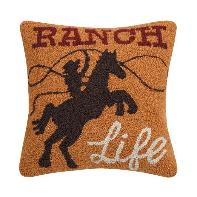 Ranch Life Hook Pillow