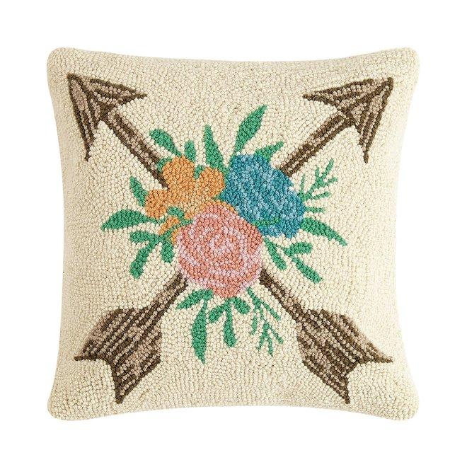 Floral Arrow Hook Pillow