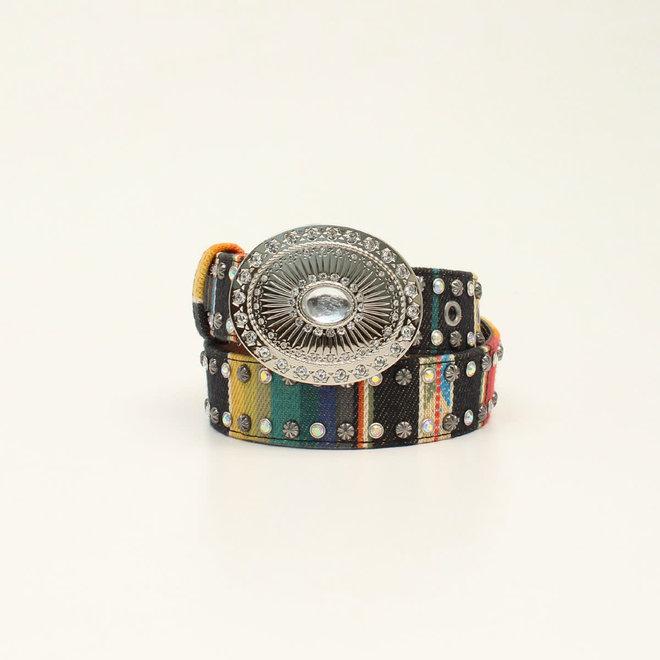 Girls Serape Oval Belt