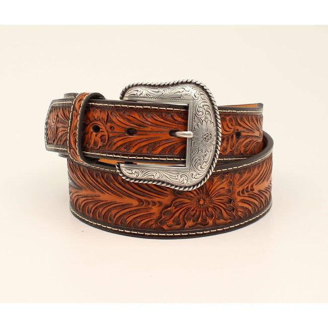 Mens Tapered Contract Cactus Concho Belt