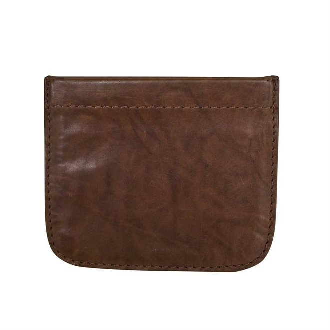 Leather Squeeze Coin Holder Tofee