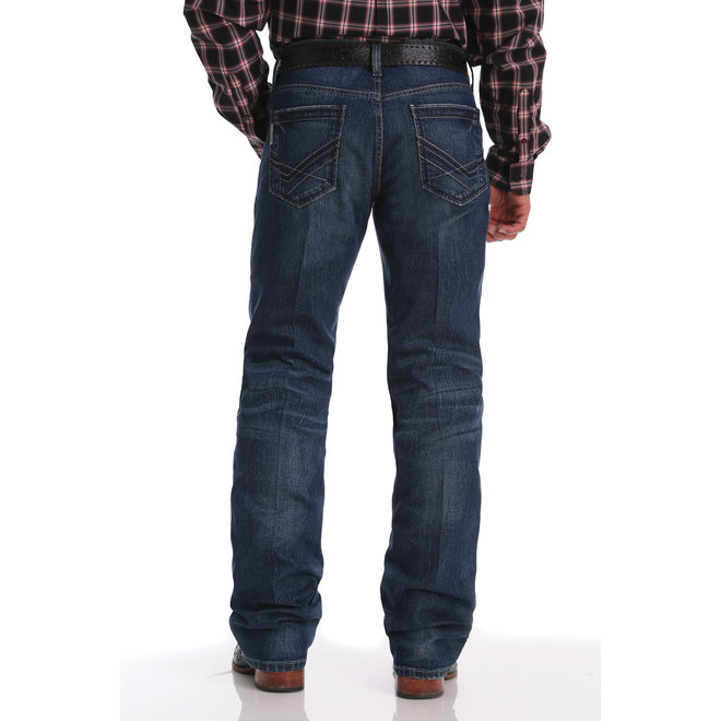 Mens Ian Medium Stone Wash Jeans