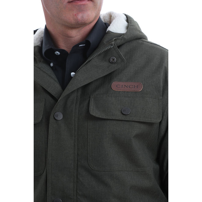 Cinch Sherpa Lined Barn Coat