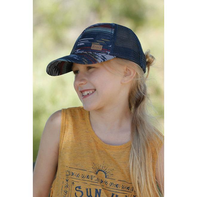 Cinch Girls Southwest Print Trucker Cap