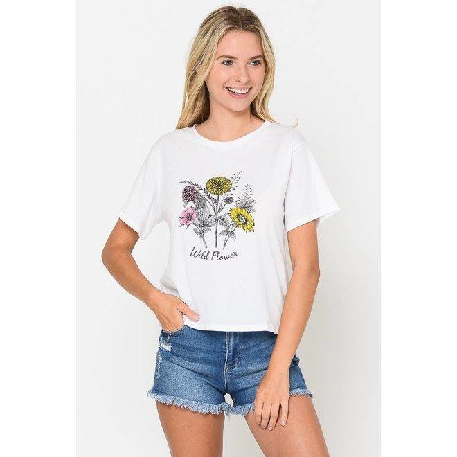 Wild Flower Jersey T-Shirt