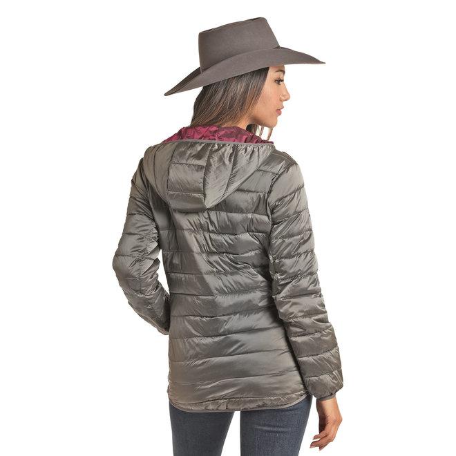 Metallic Puff Jacket