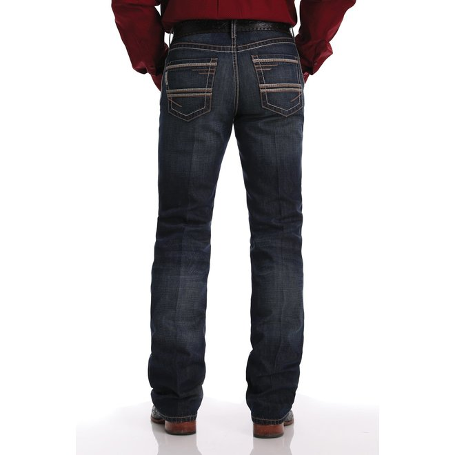 Mens Ian Medium Stone Wash Jeans