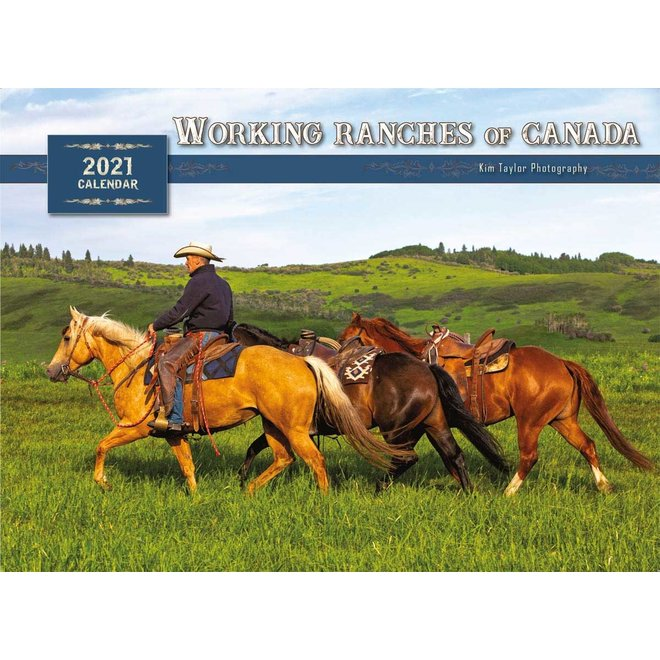 Working Ranches of Canada 2021 Calendar