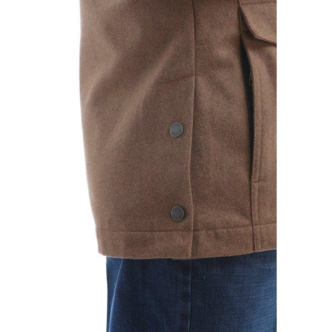 MEN'S WOOLY DRESS JACKET - CAMEL BROWN