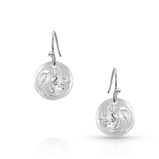 Trailwinds Mini Concho Earrings