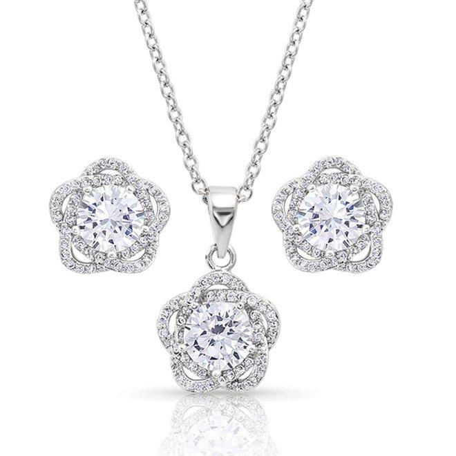 Starlight Flower Jewelry Set