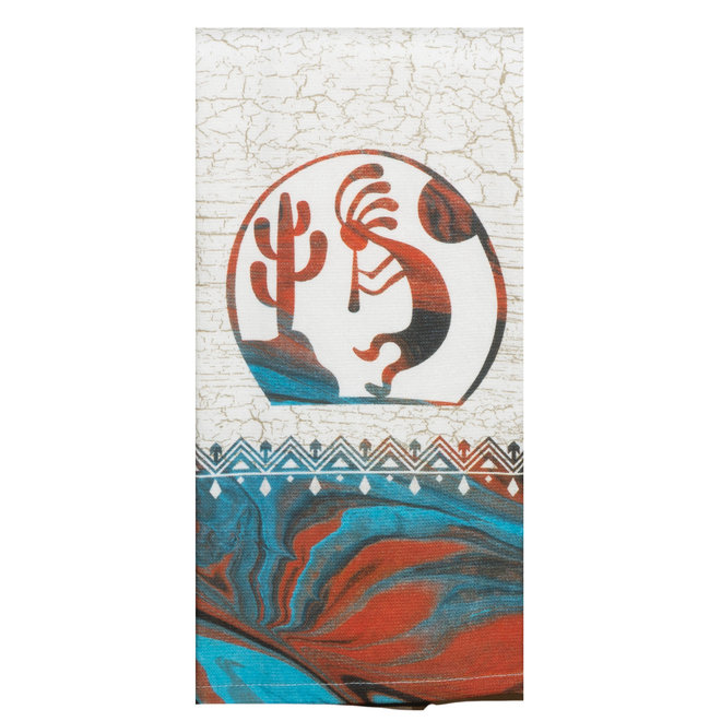 Southwest Vistas Kokopelli Dual Purpose Terry Towel