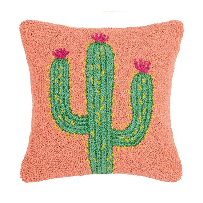Saguaro Cactus Hook Pillow