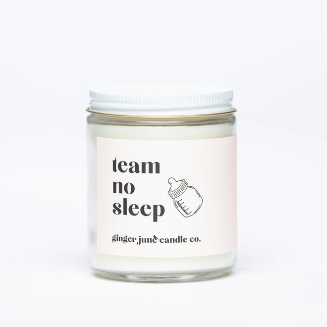 Team No Sleep | Soy Candle