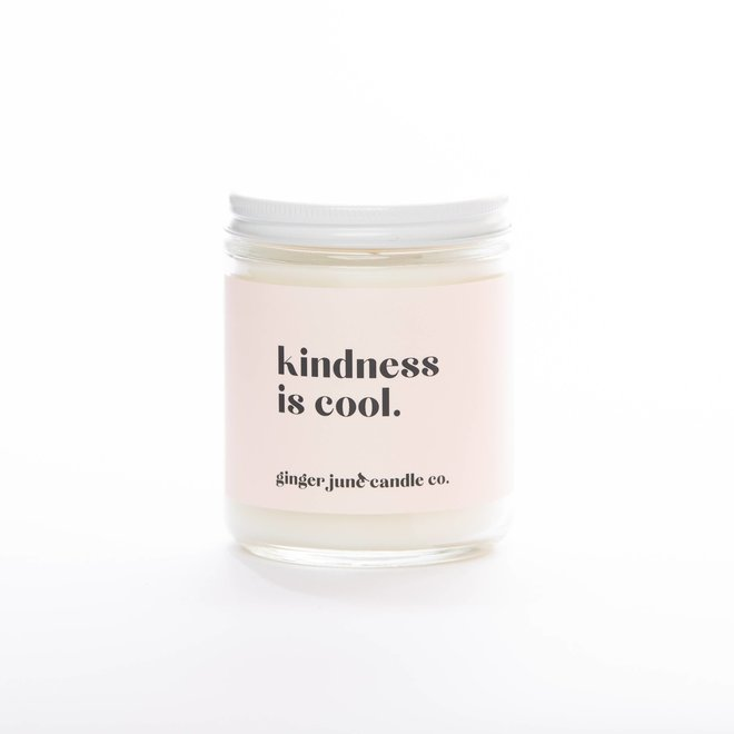 Kindness is Cool | Soy Candle