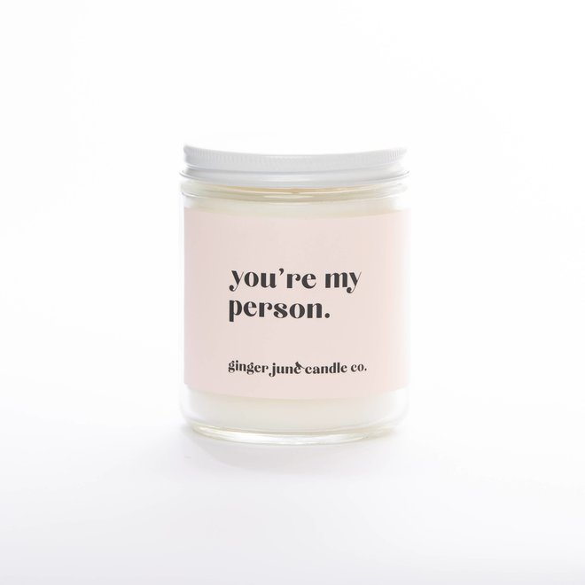 You're My Person | Soy Candle
