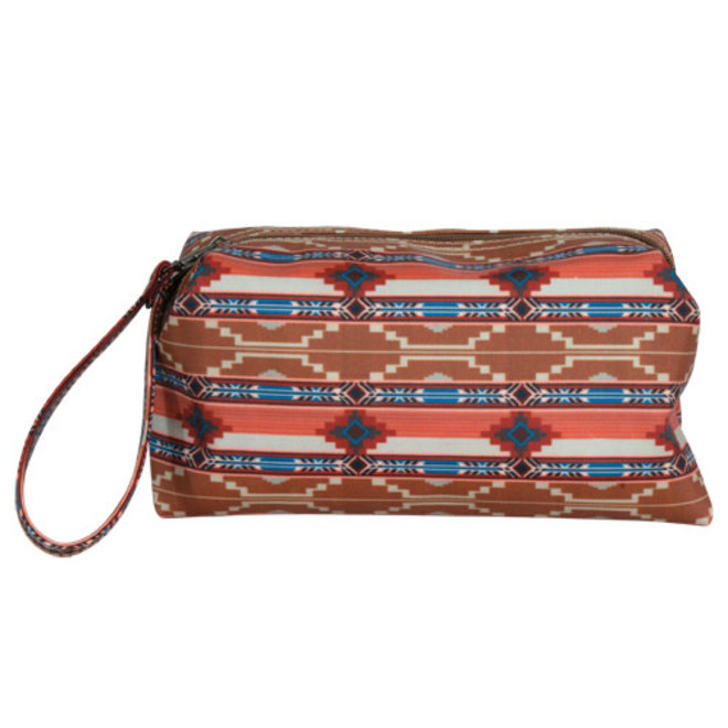 JUSTIN COSMETIC BAG SAND AZTEC