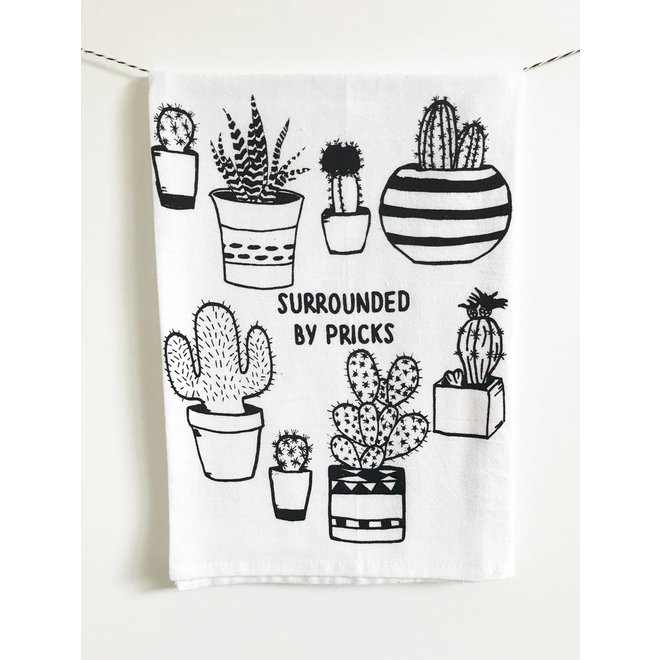 Copy of Surrounded by Pricks Farmers Market Tote Bag