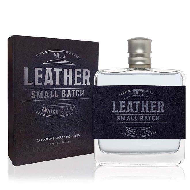 Men's  Leather No. 3 Indigo Cologne