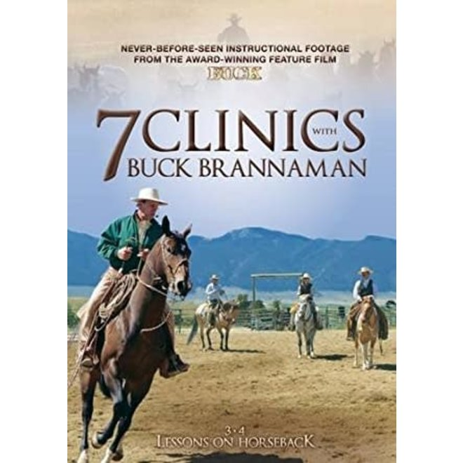 7 Clinics with Buck Brannaman DVD Series
