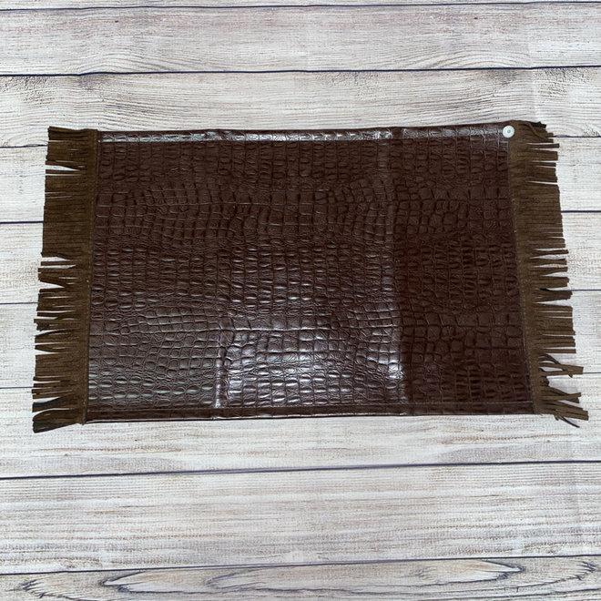 Brown Caimen Placemat