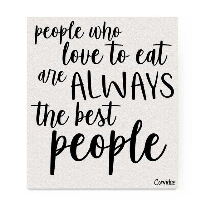 Love to Eat Dishcloth