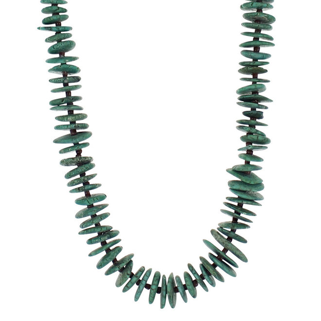 Turquoise Phases Beaded Necklace