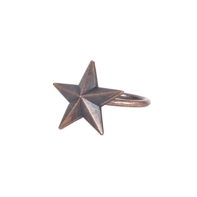 Star Design Napkin Rings