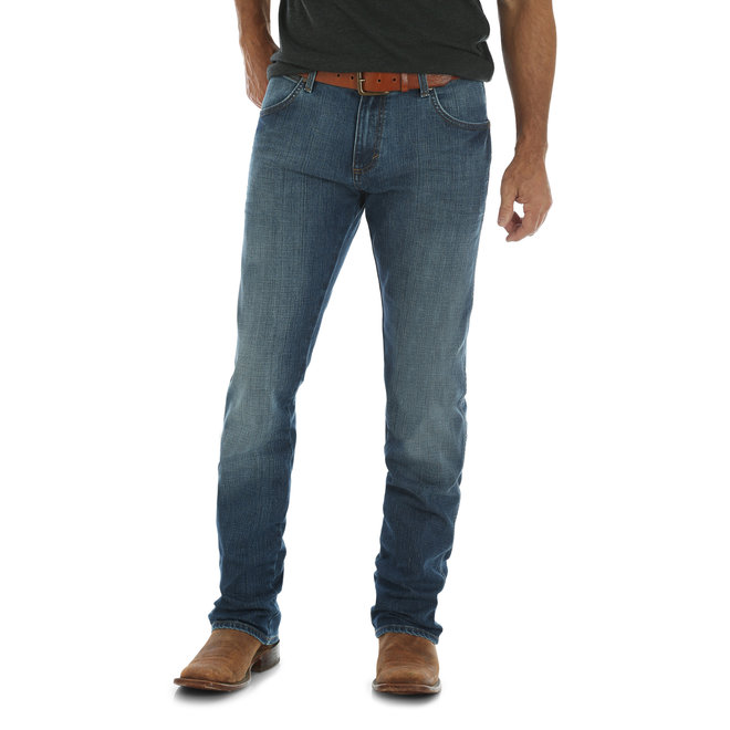 Retro Slim Fit Straight Leg Jeans | Red River