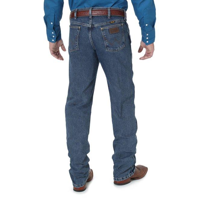 Premium Performance Advanced Comfort Cowboy Cut  Regular Fit Jeans | Mid Tint