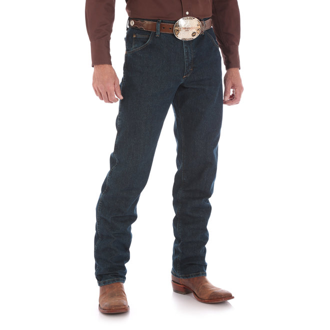 Premium Performance Advanced Comfort Cowboy Cut Regular Fit Jeans | Dark Tint