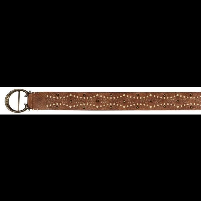 Belt Tonal Tan w/ Studs