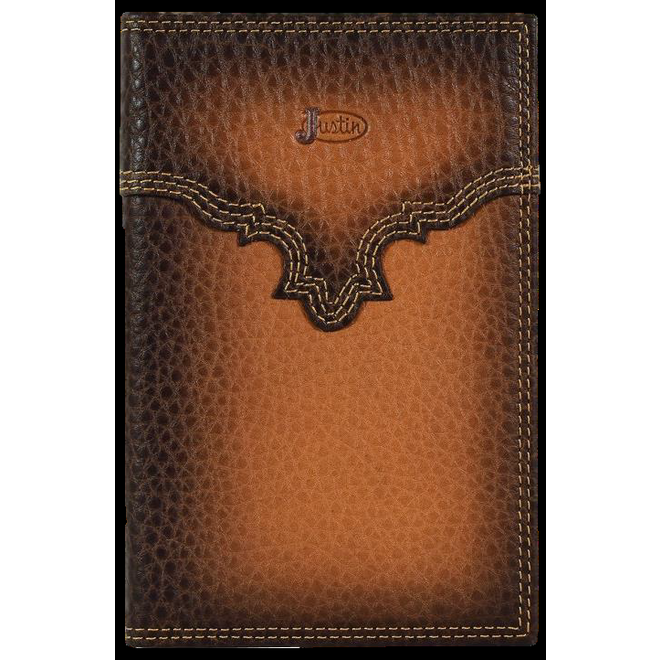 Low Profile Rodeo Wallet Burnished