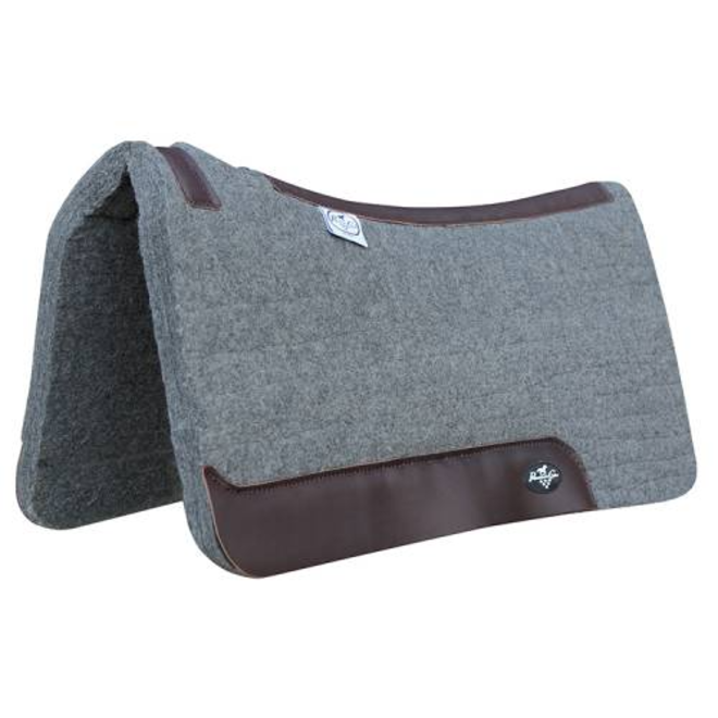 Deluxe 100% Wool Saddle Pad