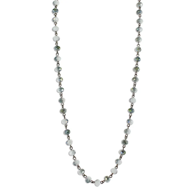 River Reflections Layered Attitude Necklace