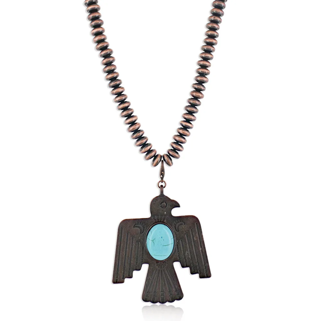 Thunder Bird Attitude Necklace